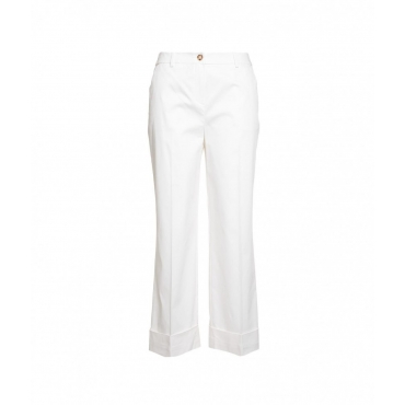 Pantaloni Gabardina bianco