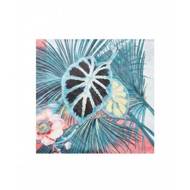 Foulard Tropica pink