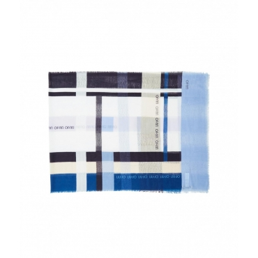 Stola Stripes blu