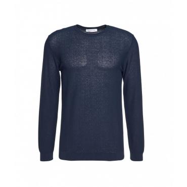 Maglione leggero blu scuro