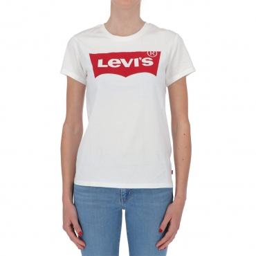 T-shirt Levis Donna Batwin Classico 0053 WHITE