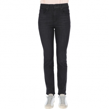 Jeans Levis Donna 724 High Rise Straight L30 B Hail 0103 BLACK CLUOD