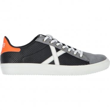 Scarpa Munich X Uomo Rete Sneaker 48 NERO