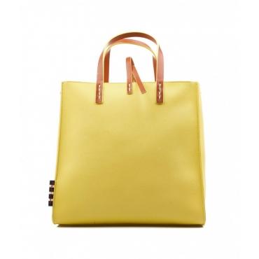 Borsa Felicia con manico giallo