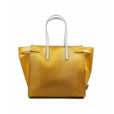 Borsa Felice Medium giallo