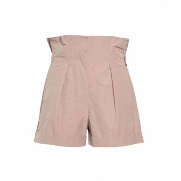 Paperbag shorts beige