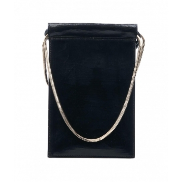 Mini shoulder bag nero