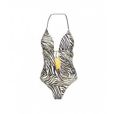 Monokini Luxury Zebra giallo