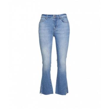 Jeans eco sostenibile blu
