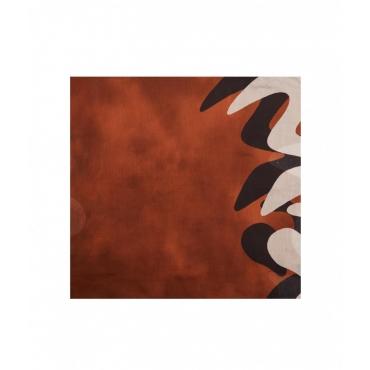 Foulard trapezio marrone
