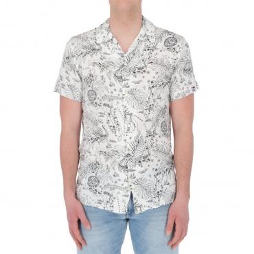 Camicia Tommy Hilfiger Jeans Uomo Miami Print 0XM MIAMI