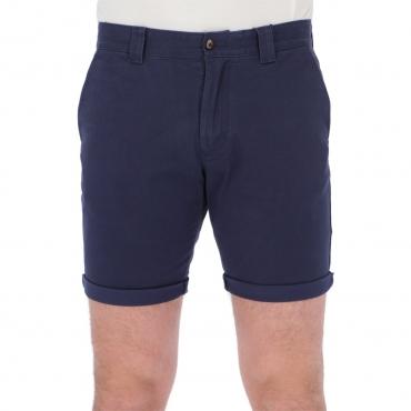 Bermuda Tommy Hilfiger Jeans Uomo Scanton Chino Coton C87 TWILIGHTNAVY