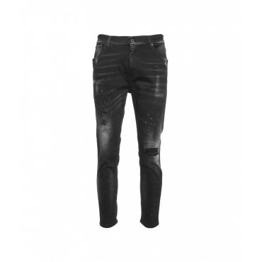Destroyed jeans Alex nero