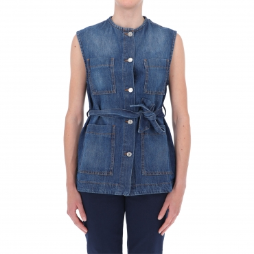 GILET KELLY RE-ISSUE DENIM W ROY ROGERS