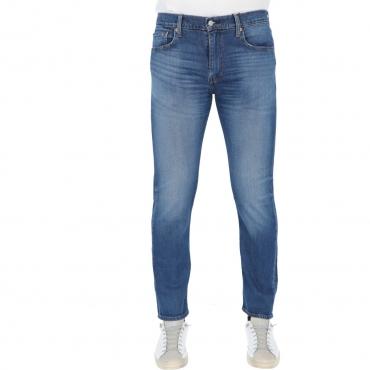 Jeans Levis Uomo 502 Regular Taper Smoke Stached 0777 SMOKE