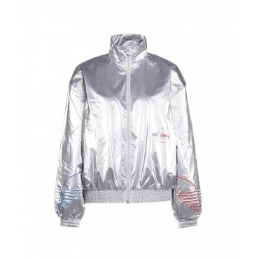 Track jacket Japona argento