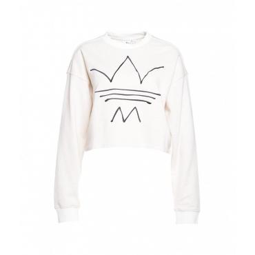 Cropped Sweater crema