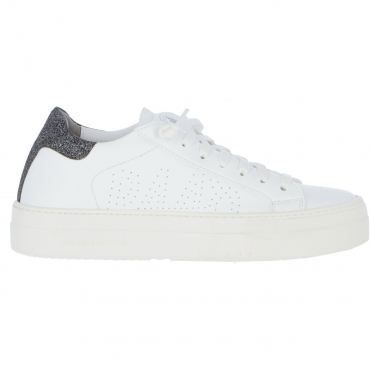 Scarpe P448 Donna Thea Veg Whi Wglb Made In Italy WHITE GLB