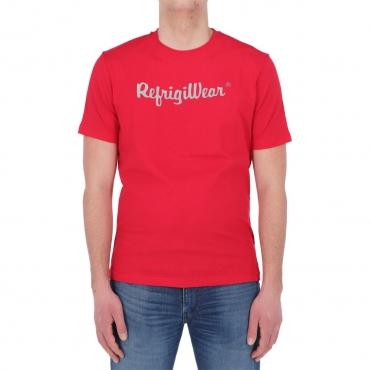 Tshirt Refrigiwear Uomo Davis 1 Cotone ROSSO