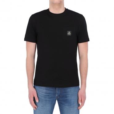 Tshirt Refrigiwear Uomo Pierce Cotone NERO