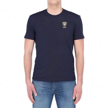 Tshirt Blauer Usa Uomo Cotone Stampa 802 ZAFFIRO