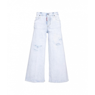 Flared Jeans azzurro