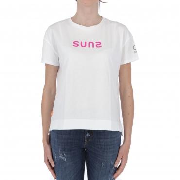 T-SHIRT SIMONA LUCID White