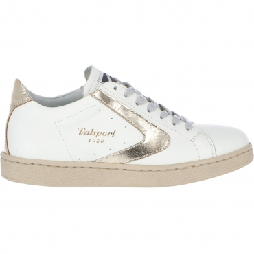 Scarpe Valsport Donna Tournament Classic Nappa BIANCO ORO
