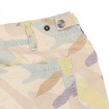 PANTALONE CORTO CABOURN OVERALL SHORTS ABSTRACT CAMO