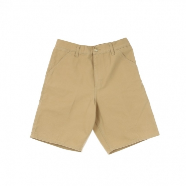 PANTALONE CORTO SINGLE KNEE SHORT DUSTY H BROWN RINSED