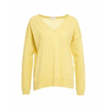 Maglione leggero giallo