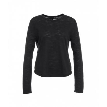 Leichter Pullover nero