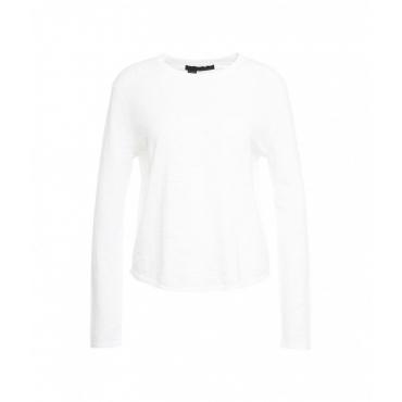 Leichter Pullover bianco
