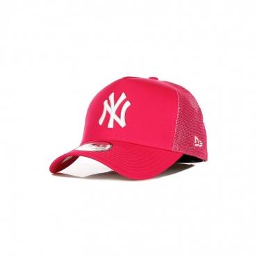 CAPPELLINO VISIERA CURVA MLB TONAL MESH TRUCKER NEYYAN PINK/WHITE