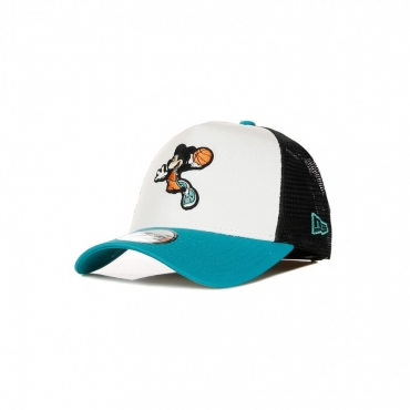 CAPPELLINO VISIERA CURVA KIDS DISNEY CHARACTER SPORTS TRUCKER MICKEY MOUSE WHITE/TEAL