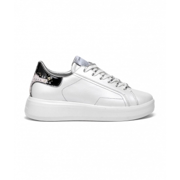 Sneaker Low Top Level Up bianco