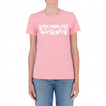 T-shirt Levis Donna Batwin Classico 1450 PINK