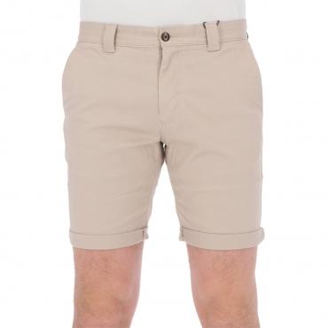 Bermuda Tommy Hilfiger Jeans Uomo Scanton Chino Coton ABM SOFT BEIGE