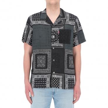 Camicia Levis Uomo Cubano Shirt Multibandana 0038 BANDANA