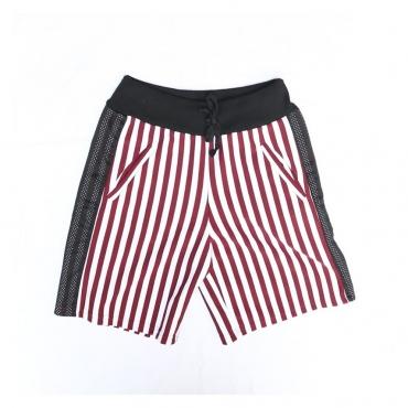 PANTALONE CORTO TUTA MIBR19 White/Red Stripes/BlackMesh unico