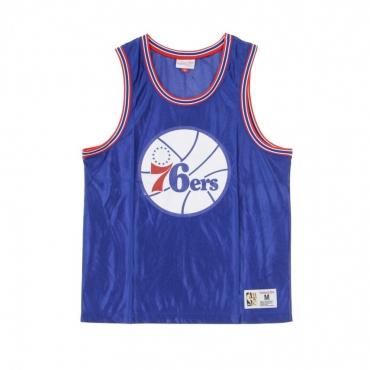 CANOTTA TIPO BASKET NBA DAZZLE TANK TOP PHI76E ORIGINAL TEAM COLORS