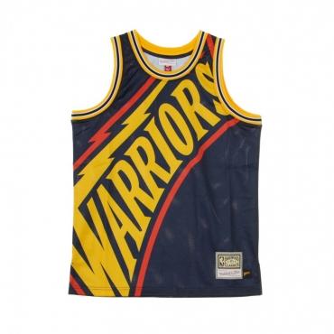 CANOTTA BASKET NBA BIG FACE JERSEY GOLWAR ORIGINAL TEAM COLORS