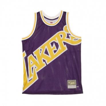 CANOTTA BASKET NBA BIG FACE JERSEY LOSLAK ORIGINAL TEAM COLORS