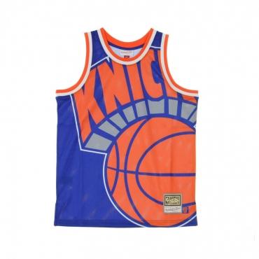 CANOTTA BASKET NBA BIG FACE JERSEY NEYKNI ORIGINAL TEAM COLORS