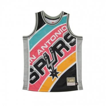 CANOTTA BASKET NBA BIG FACE JERSEY SAASPU ORIGINAL TEAM COLORS
