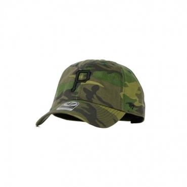 CAPPELLINO VISIERA CURVA MLB CLEAN UP CAMO UNWASHED PITPIR CAMO/BLACK