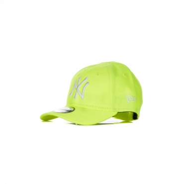 CAPPELLINO VISIERA CURVA MLB KIDS LEAGUE ESSENTIAL NEON PACK NEYYAN NEON YELLOW/WHITE