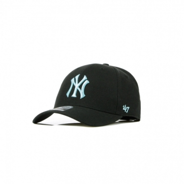CAPPELLINO VISIERA CURVA MLB MVP NEYYAN BLACK/LIGHT BLUE