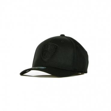 CAPPELLINO VISIERA CURVA NBA BLK/WHT LOGO 110 BRONET BLACK/BLACK