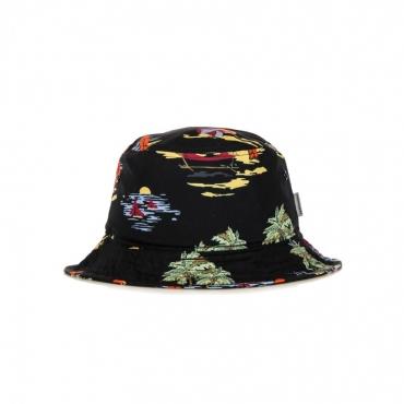 CAPPELLO DA PESCATORE BEACH BUCKET HAT BLACK